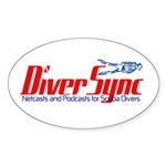 DiverSync Sticker (Oval)