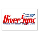 DiverSync Sticker (Rectangle)