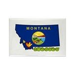 ILY Montana Rectangle Magnet (10 pack)