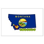ILY Montana Large Poster