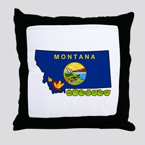 ILY Montana Throw Pillow