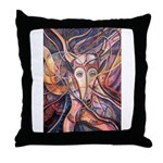 African Antelope Throw Pillow