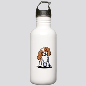 KiniArt CKC Spaniel Stainless Water Bottle 1.0L