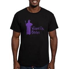 Wizard Up Men's Fitted T-Shirt (dark)
