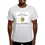 Jewish - Spin my Dreidle? - Ash Grey T-Shirt
