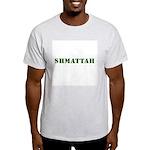 Jewish - Shmattah - Rag - Yiddish - Ash Grey T-Shi