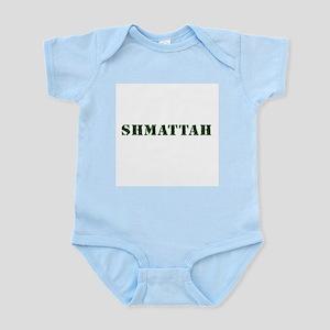 Jewish - Shmattah - Rag - Yiddish - Infant Creeper