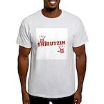 Jewish - Shmutzik - Dirty - Yiddish Ash Grey T-Shi