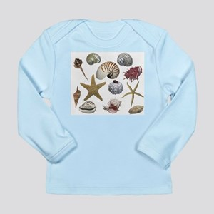 Shells Long Sleeve Infant T-Shirt