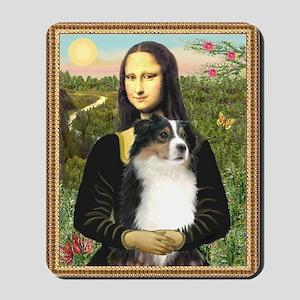 Mona & her Tri Aussie Mousepad