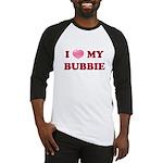 Jewish - I love my Bubbie - Baseball Jersey