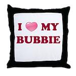 Jewish - I love my Bubbie - Throw Pillow