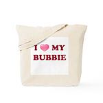 Jewish - I love my Bubbie - Tote Bag