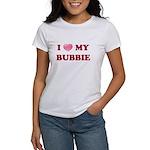 Jewish - I love my Bubbie - Women's T-Shirt