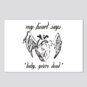 Baby You're dead Postcards (Package of 8)