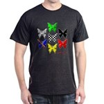 checkered heart and handcuffs Dark T-Shirt