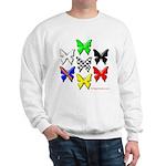checkered heart and handcuffs Sweatshirt