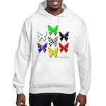checkered heart and handcuffs Hooded Sweatshirt