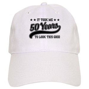 Funny 50th Birthday Hats