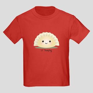 Dumpling (Mandu) Kids Dark T-Shirt
