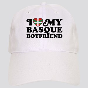 I Love My Basque Boyfriend Cap