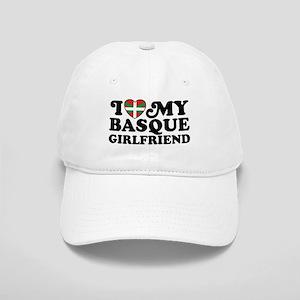 I Love My Basque Girlfriend Cap