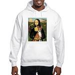 Mona Lisa - Basenji Hooded Sweatshirt