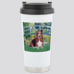 Lily Bridge Basset Stainless Steel Travel Mug