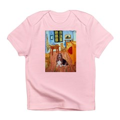 Room with a Basset Infant T-Shirt