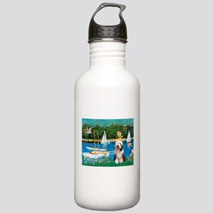 Sailboats / Beardie #1 Stainless Water Bottle 1.0L