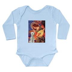 Angel / Bedlington T Long Sleeve Infant Bodysuit
