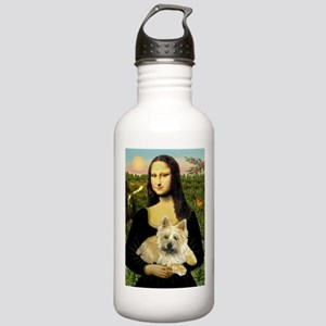 Mona /Cairn Terrier Stainless Water Bottle 1.0L