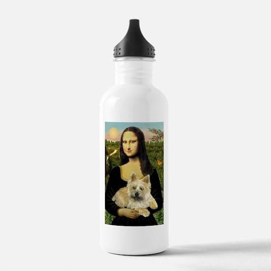 Mona /Cairn Terrier Water Bottle