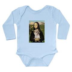 Mona / Cairn T (brin) Long Sleeve Infant Bodysuit