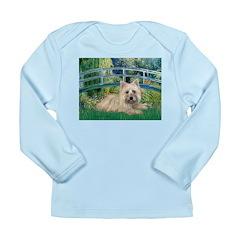 Bridge /Cairn Terrier (w) Long Sleeve Infant T-Shi