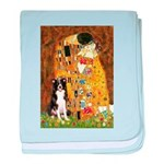 The Kiss & Border Collie baby blanket