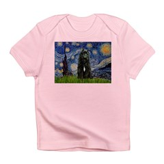 Starry Night Bouvier Infant T-Shirt