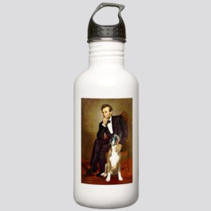 Lincoln & his Boxer Stainless Water Bottle 1.0L