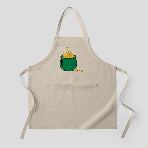St. Patricks gold pot Apron