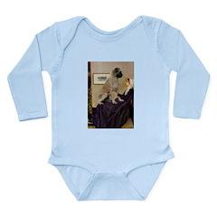 Whistler's / Bullmastiff Long Sleeve Infant Bodysu