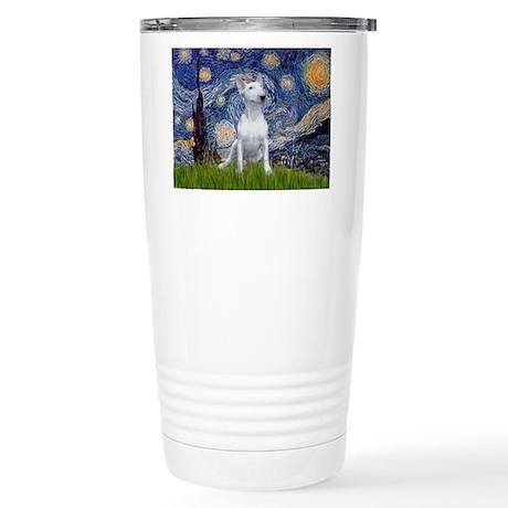 Starry/Bull Terrier (#4) Stainless Steel Travel Mu