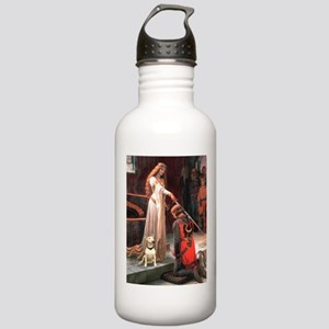 The Accolade Bull Terrier Stainless Water Bottle 1