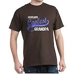 World's Coolest Grandpa Dark T-Shirt