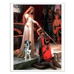 Accolade / Catahoula Leopard Small Poster