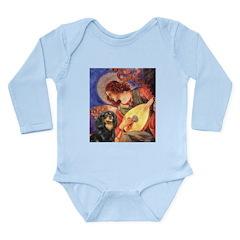 Angel (3) & Cavalier (BT) Long Sleeve Infant Bodys