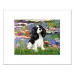 Lilies and Tri Cavalier Small Poster