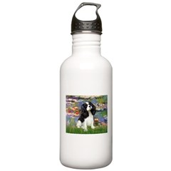 Lilies and Tri Cavalier Water Bottle