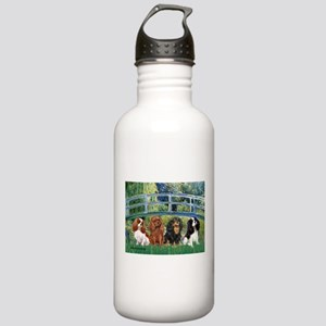 Bridge & 4 Cavaliers Stainless Water Bottle 1.0L