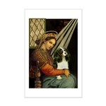 Madonna & Tri Cavalier Mini Poster Print