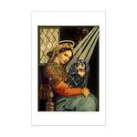 Madonna & Cavalier (BT) Mini Poster Print